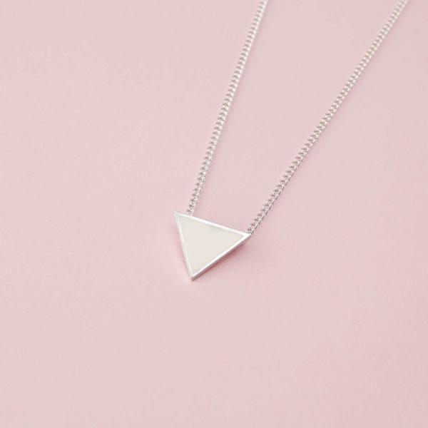 Colgante Triángulo de Leche Materna
