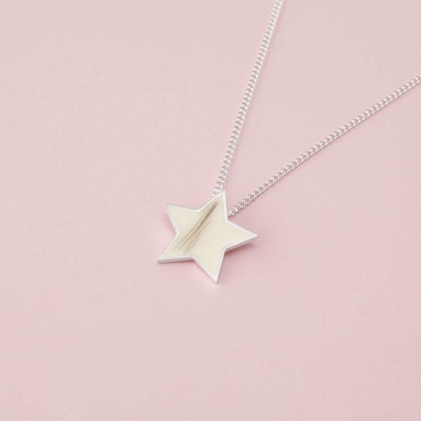 Colgante Estrella de Leche Materna