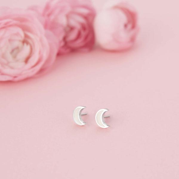 Pendientes Luna de Leche Materna